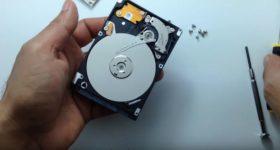 Как восстановить файлы с жесткого диска ноутбука?