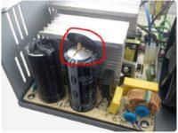 Какие конденсаторы стоят в блоке питания компьютера?