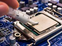 Как заменить термопасту на процессоре компьютера?