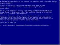 0x0000007f Windows 7 как исправить?