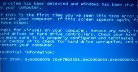 0x00000077 Windows xp как исправить?