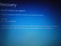 0xc000000d Windows 10 как исправить?