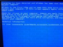 Technical information stop 0x0000007b как исправить?