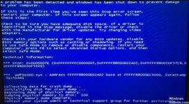 Wdf01000 sys Windows 10 как исправить?