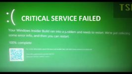 Critical service failed Windows 10 как исправить?
