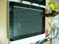 Зеркальный тачскрин на планшете как исправить?