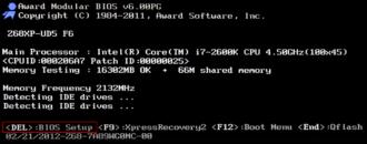 Как зайти в БИОС при загрузке компьютера?