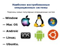 Какую операционную систему выбрать для компьютера?