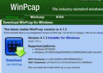 Winpcap что это за программа?