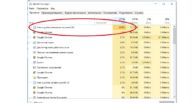 Служба узла служба политики диагностики грузит процессор