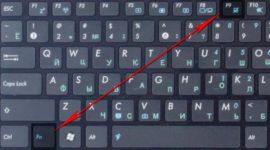 Как включить мышку на клавиатуре ноутбука?