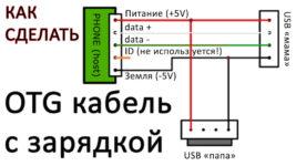 Как подключить ОТГ кабель к телефону программа